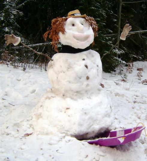 Snowman Joy!