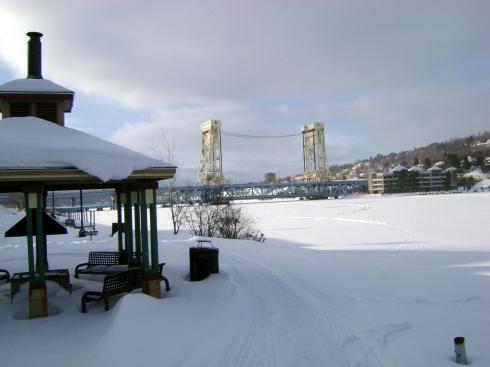 Portage Lake Lift Bridge