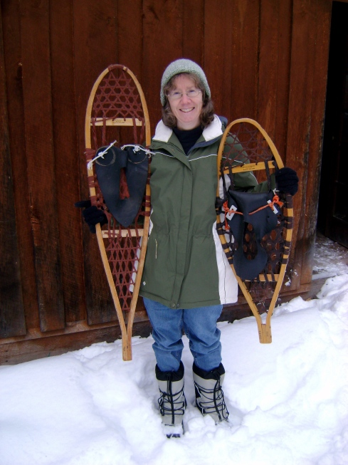 "The ""Michigan"" and ""bear paw"" snowshoe varieties (and me)"