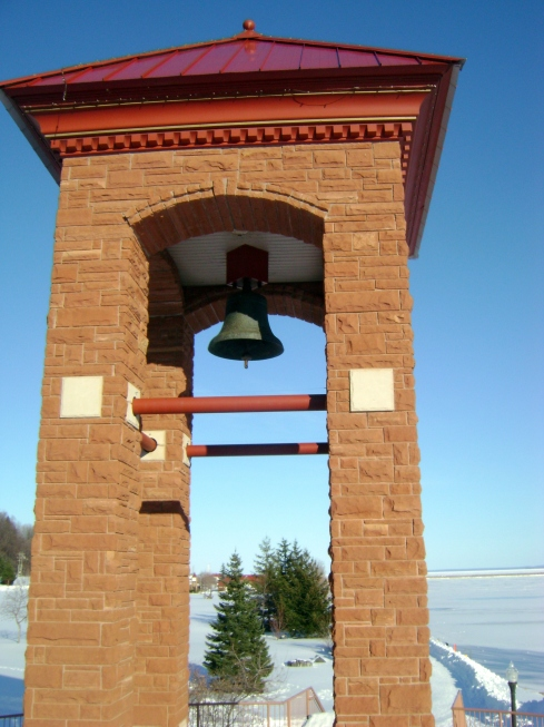 If your home caught fire in 1928 in Marquette, this bell rang!