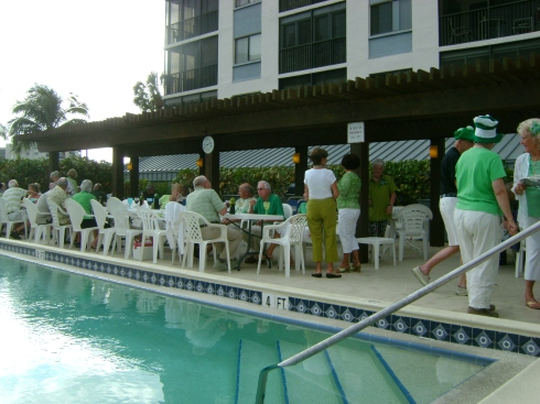 Condo St. Patrick's Day party