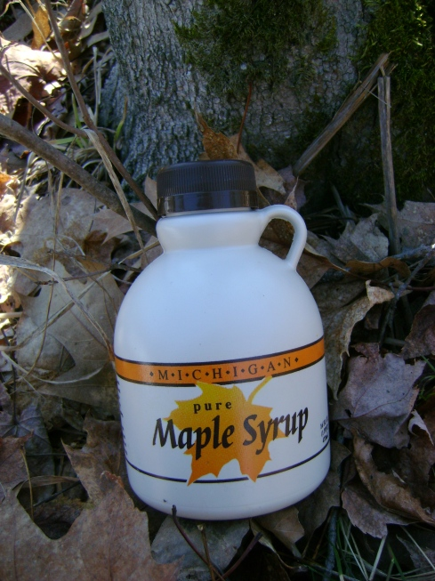 Pure Michigan Maple Syrup...yum