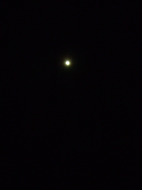 Our April moon, isn't she beautiful?