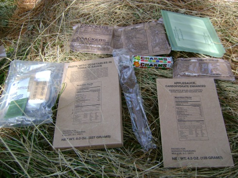 Look at everything inside a single MRE!