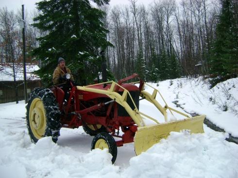 One last driveway plow?