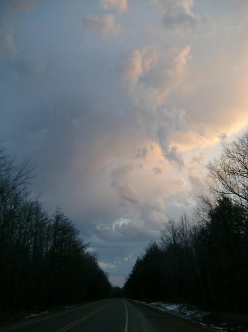 A wild & crazy sky
