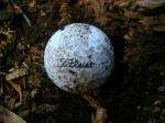 It's a golf ball!
