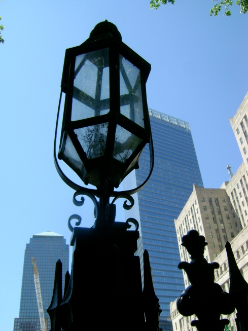 Typical NYC lantern/street light