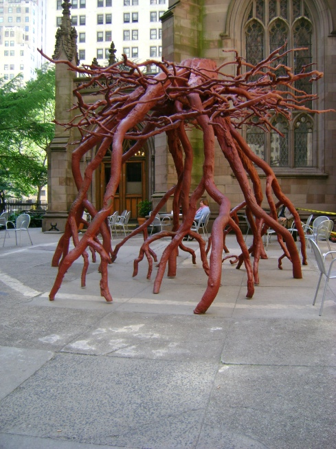 What do you think of this awesome root statue?