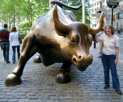 The bull and...me