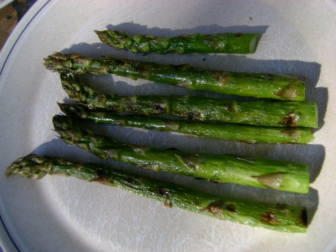 Grilled Asparagus.  A culinary delight.