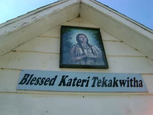 Close up of Kateri