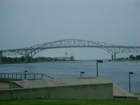 Blue Water Bridge, Port Huron, MI