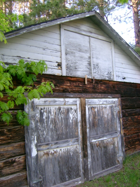 Old garage or shed