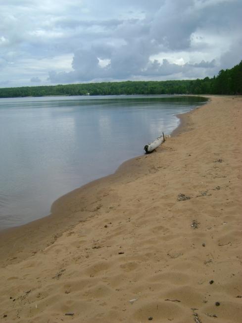 Second Sand beach--empty.