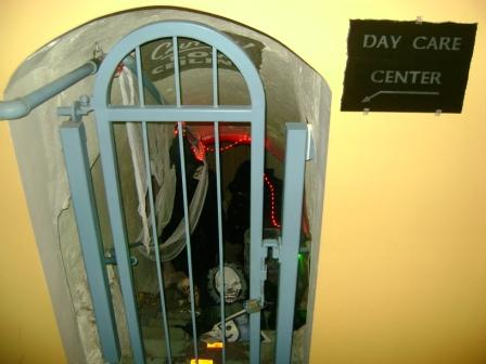 Do you think the children really want to go to this Day Care Center?  Looks kinda spooky.