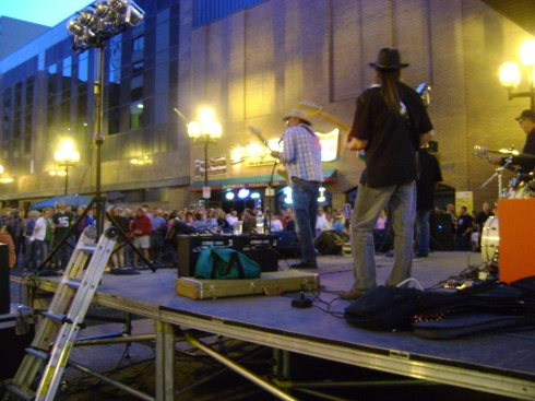 Street dance on Superior Avenue