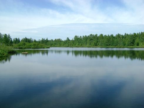 Hidden lake