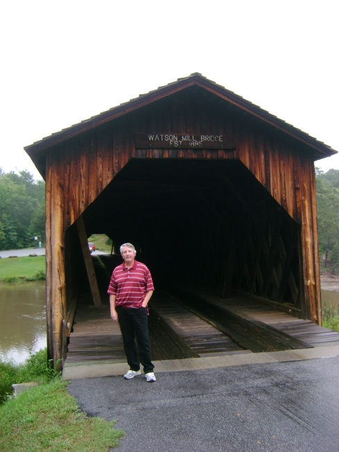 Craig and covered bridge
