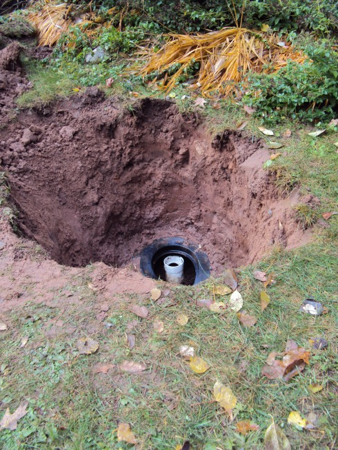 Access to the Septic Tank