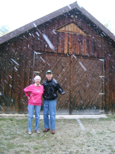 Hi Mom and Dad! Welcome to the U.P.