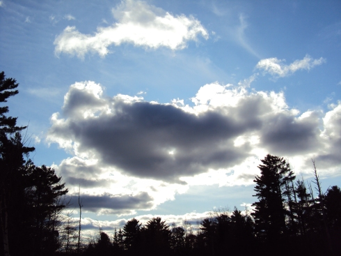 Light, clouds, depth, sky