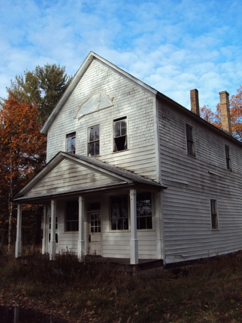 Pequaming's old community hall