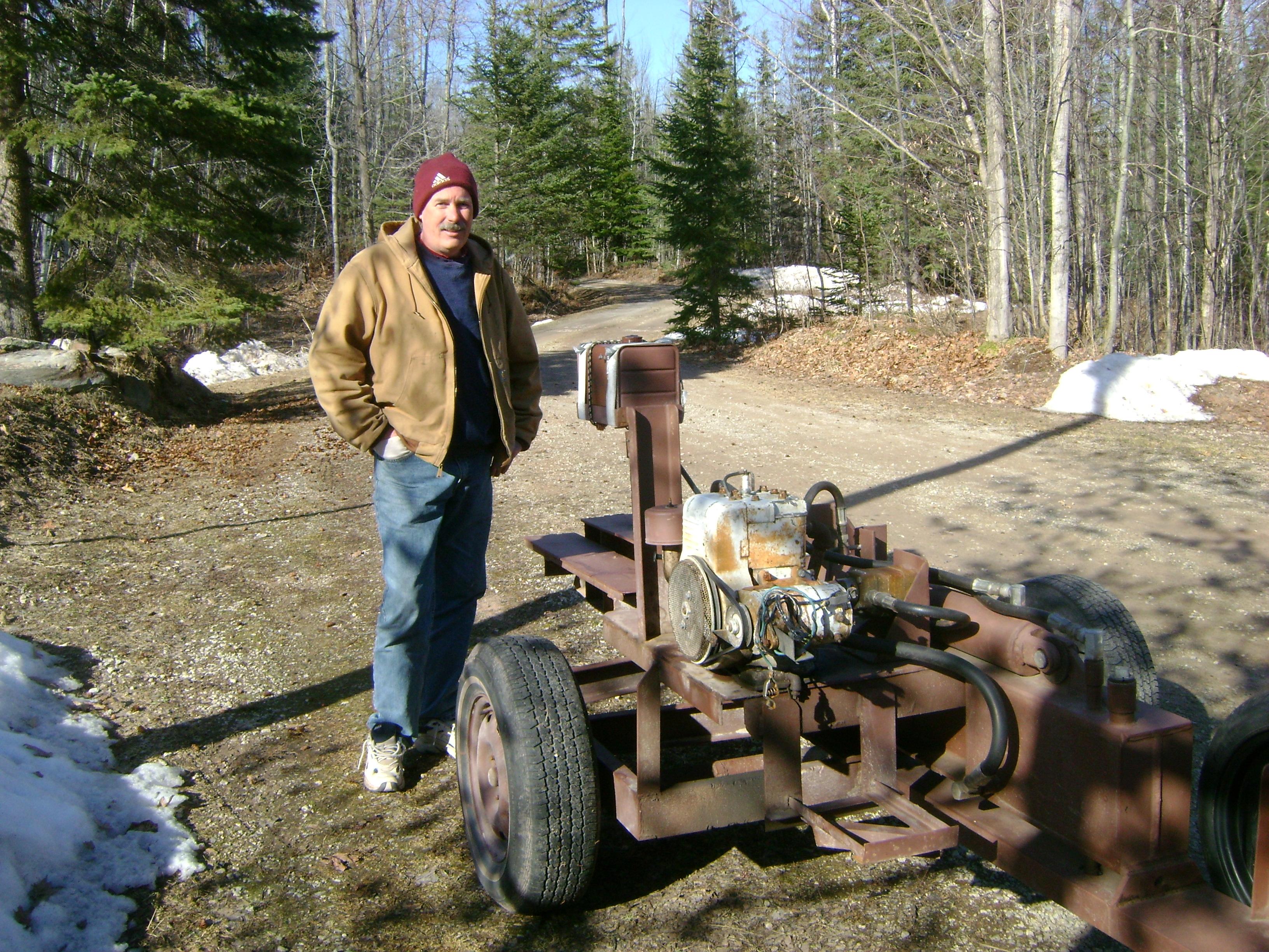 Diy Homemade Wood Splitter Plans Download Storage